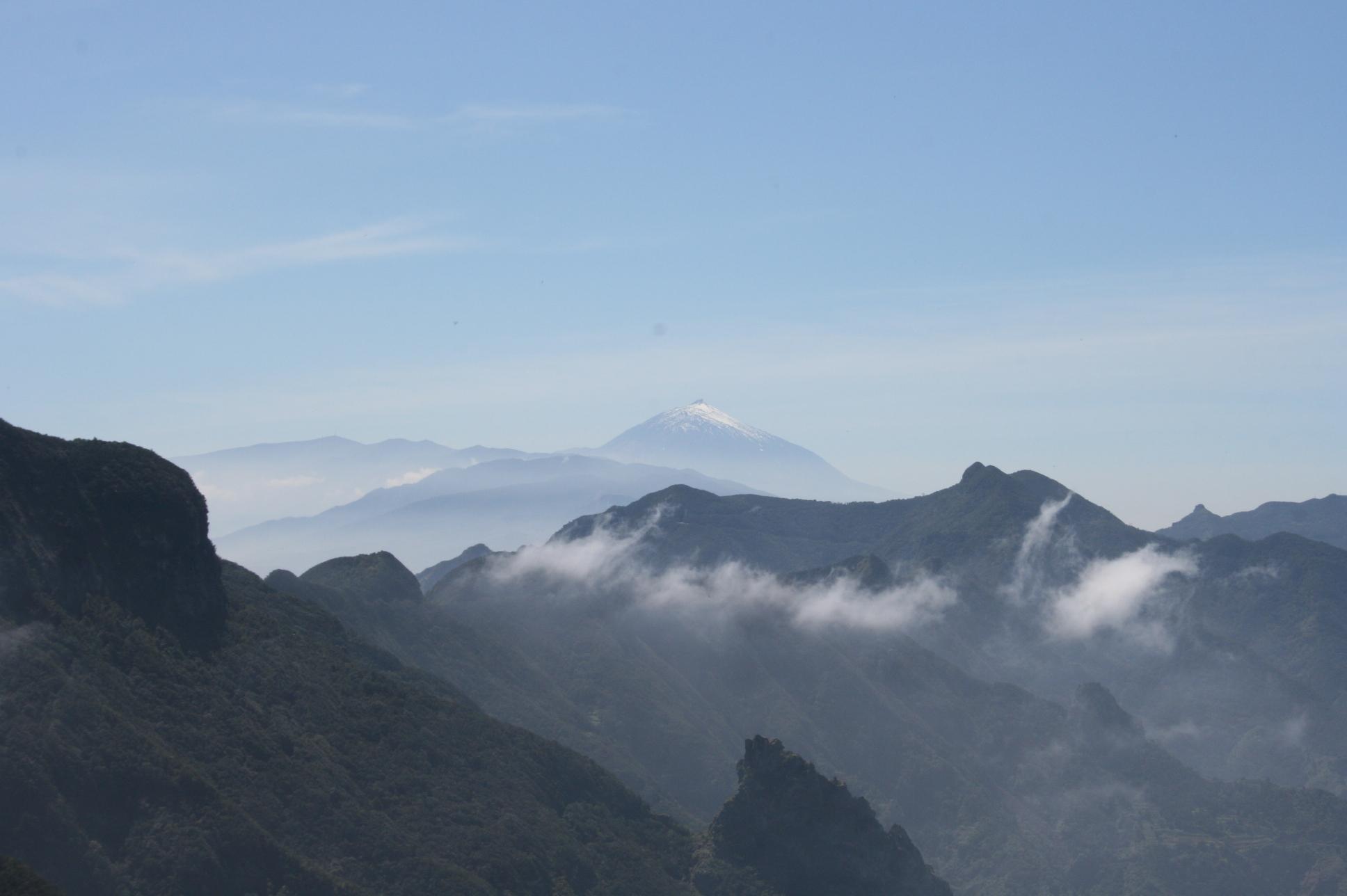 Gebirge Teide