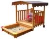 Gaspo 310375 - Spielhaus mit Sandkasten - 1