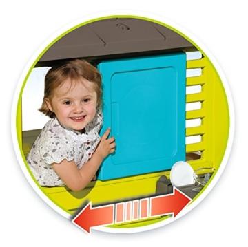Smoby 810711 Pretty Spielhaus mit Küche, grau,grün,türkis - 2