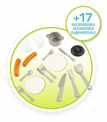 Smoby 810711 Pretty Spielhaus mit Küche, grau,grün,türkis - 6