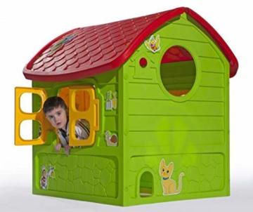 thorberg Spielhaus Kinderspielhaus Kinderhaus 120x113x111cm (DE Garantie, Made in EU) - 2