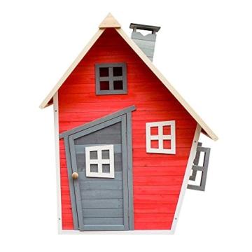 Umweltfreundliches Spielhaus für Kinder aus Fichtenholz Kinderspielhaus Holzhaus Garten - 2
