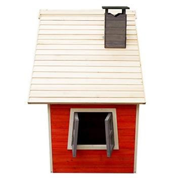 Umweltfreundliches Spielhaus für Kinder aus Fichtenholz Kinderspielhaus Holzhaus Garten - 3